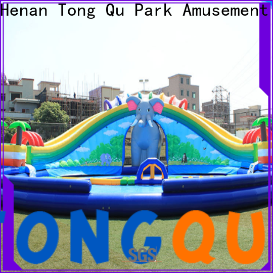 Tongtoy inflatable bounce house water slide order now
