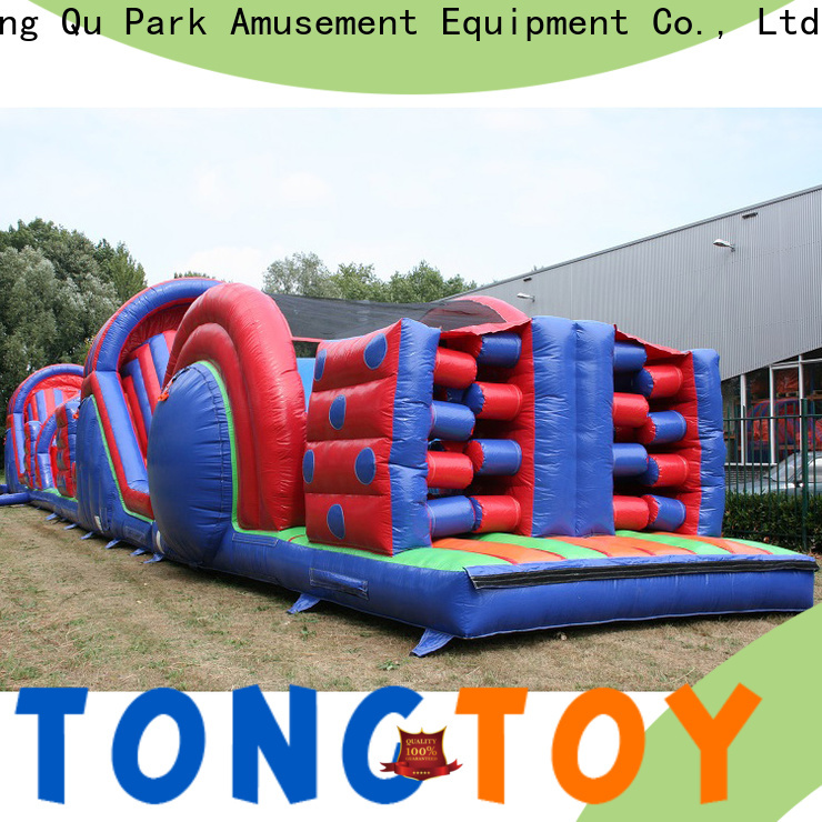 Tongtoy Best bouncy castle obstacle course for sale customized for adult