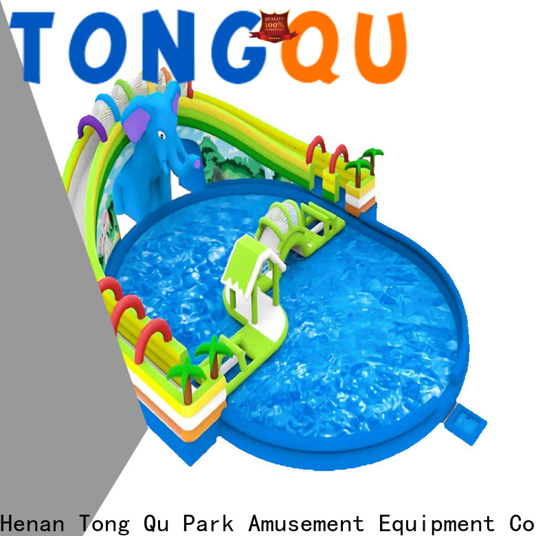 Tongtoy water slide bounce house for sale company for water park