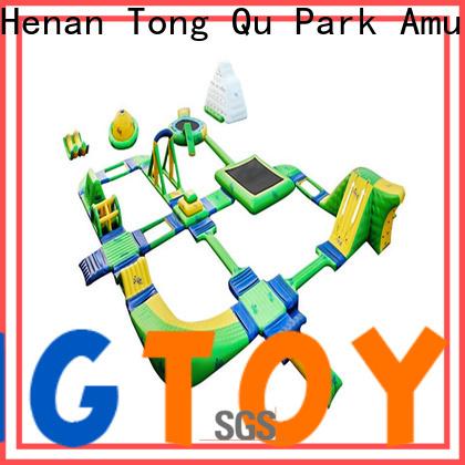 Tongtoy Custom slip and slide water park factory for amusement park