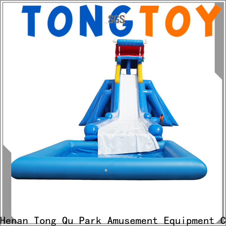 customized 50 foot water slide factory price for water park