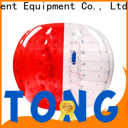 Tongtoy inflatable zorb ball reputable manufacturer for playground