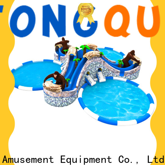 Tongtoy New 18 foot water slide factory price