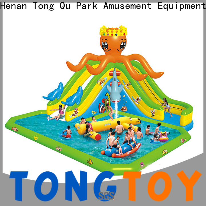 Tongtoy Top inflatable water jumping castles reputable manufacturer for water park
