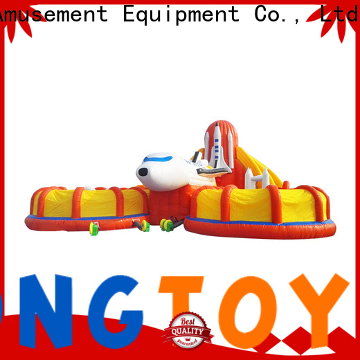 Tongtoy fire-resistant commercial blow up water slides supplier for adult