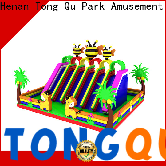 Tongtoy Custom inflatable bounce slide reputable manufacturer for outdoor