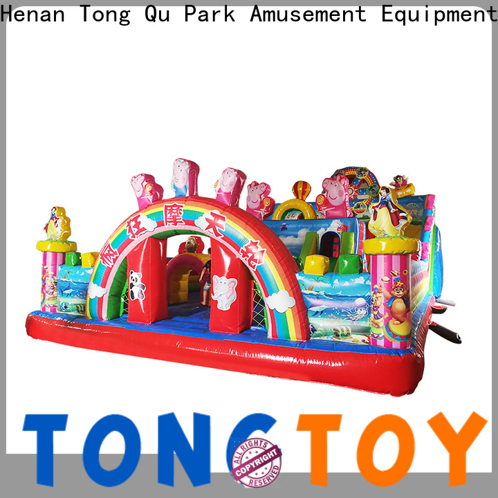 Tongtoy water-proof inflatable bounce slide supplier for outdoor