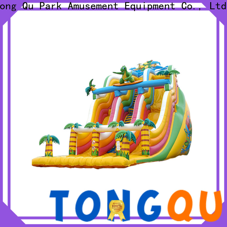 Tongtoy adult blow up slide from China for amusement park