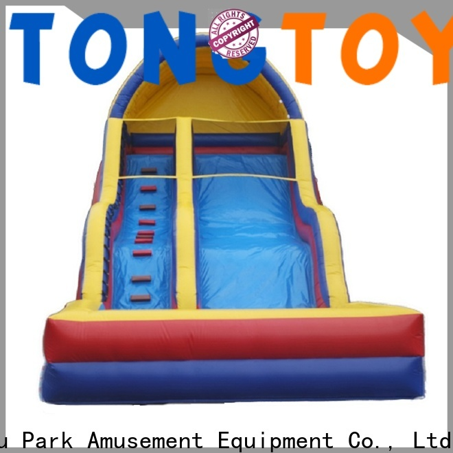 Tongtoy inflatable obstacle course order now for water park