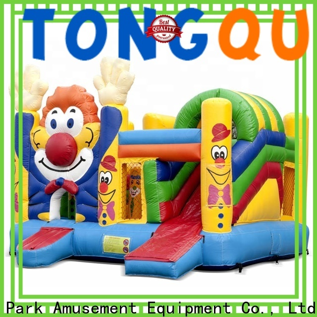 Tongtoy fire-resistant indoor outdoor bounce house supplier for kids