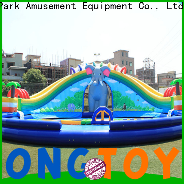 Tongtoy rocky mountain river race inflatable slide bouncer Suppliers for swimming pool