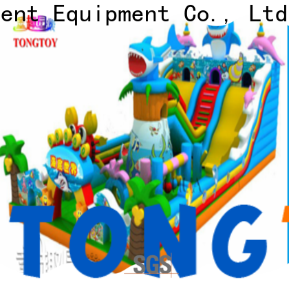 Tongtoy water-proof biggest inflatable water slide supplier for outdoor