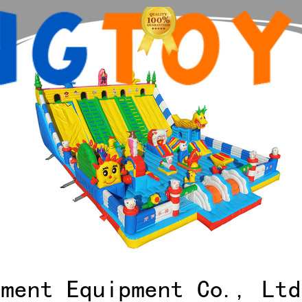 Tongtoy bouncer water slide supplier for outdoor