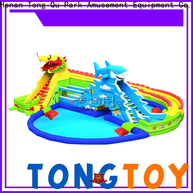 Tongtoy customized inflatable jumpers company for swimming pool