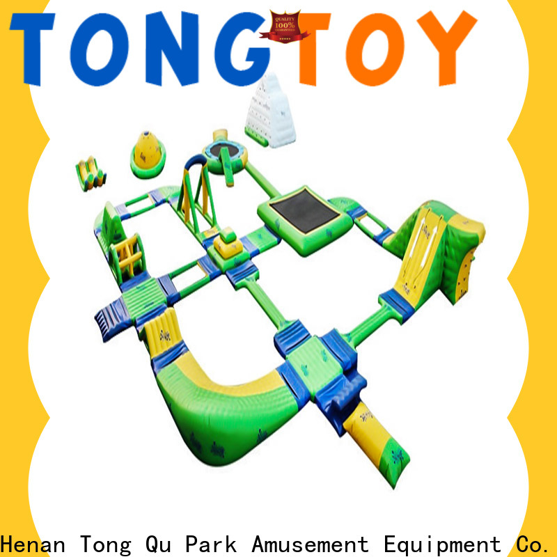 Tongtoy Best splash island inflatable Suppliers for water park