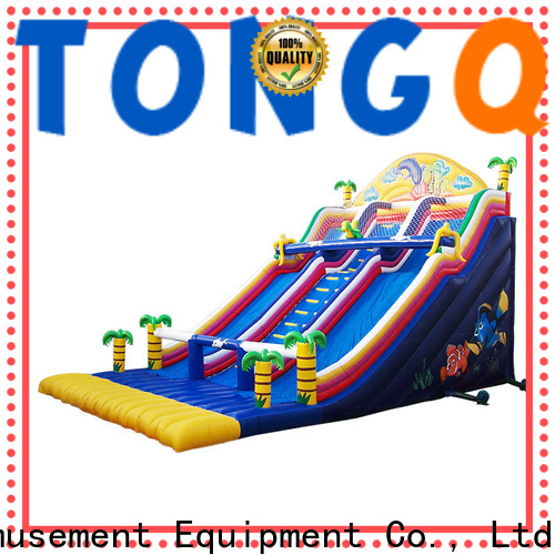 Wholesale adult blow up slide factory price for outdoor