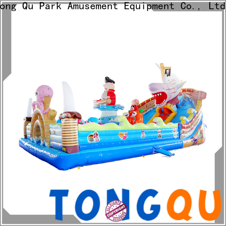 Tongtoy water-proof inflatable trampoline inquire now for outdoor