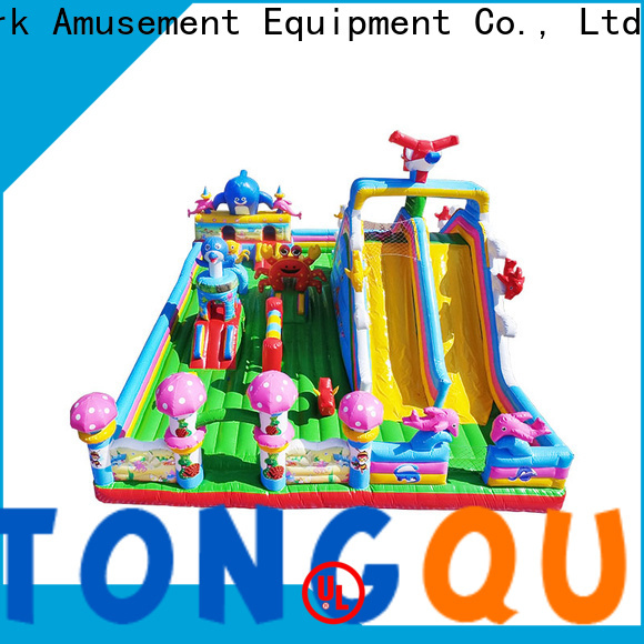 colorful blow up jump house supplier for adult