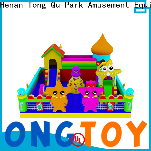 Tongtoy water-proof shady bounce house supplier for outdoor