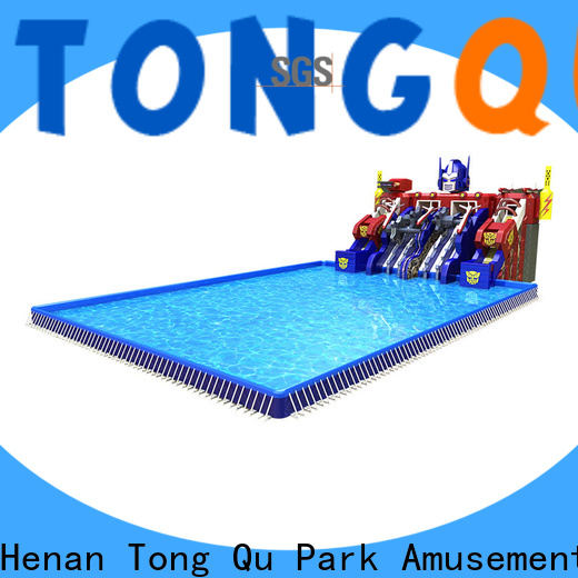 Tongtoy inflatable bounce house with slide Suppliers for water park