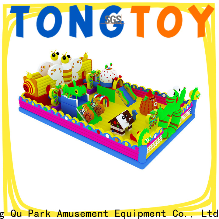 Tongtoy Heat resistant giant water slide for sale inquire now for outdoor