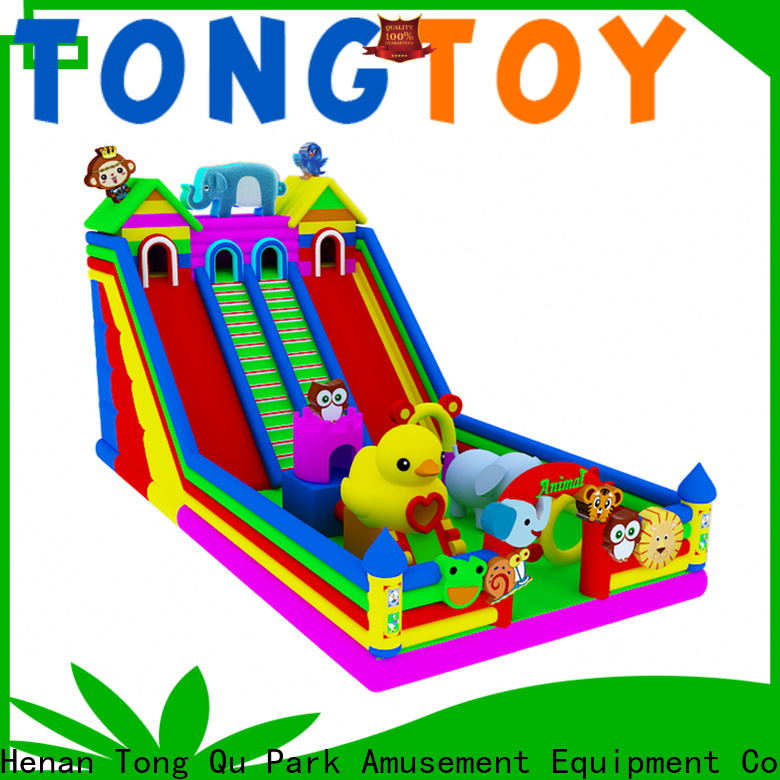 Tongtoy kids inflatable slide from China for amusement park