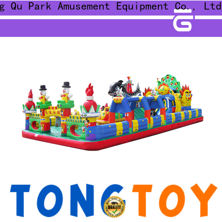 Tongtoy fire-resistant bounce house for sale water slide inquire now for kids