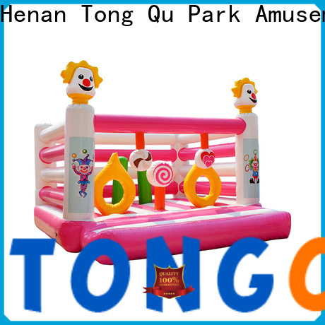 Tongtoy Heat resistant cheap commercial bounce houses for sale wholesale for kids