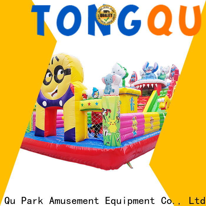 Tongtoy colorful inflatable combo bouncers sale wholesale for outdoor