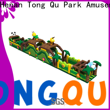 Tongtoy inflatable obstacles for sale factory for amusement park