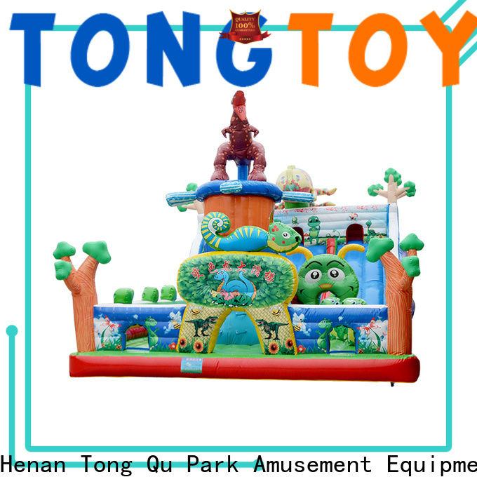 Tongtoy water-proof commercial inflatable jumpers inquire now for outdoor
