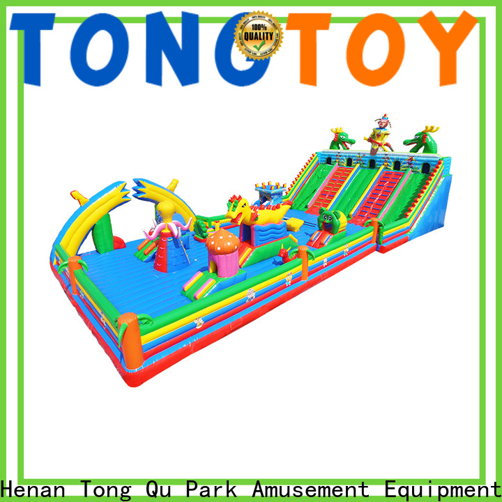 Tongtoy colorful bouncer party inquire now for kids