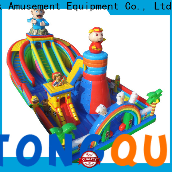 Tongtoy bounce house for sale water slide supplier for adult