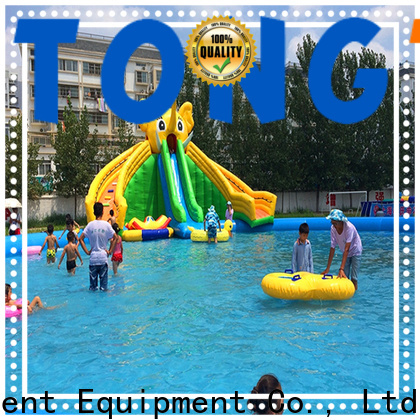 Tongtoy 30 foot water slide reputable manufacturer
