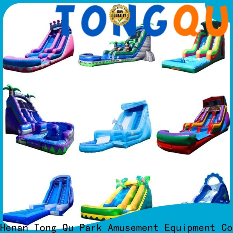 Tongtoy Top inflatable bounce slide from China for indoor