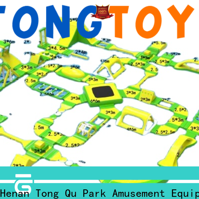 Tongtoy Latest giant inflatable water park near me wholesale for playground