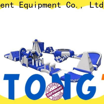 Tongtoy inflatable lake slide company for playground