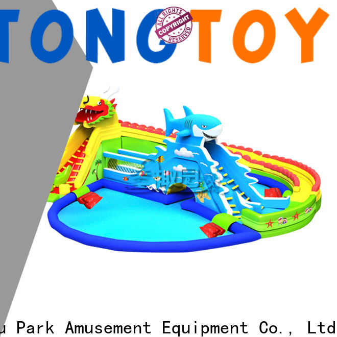 Tongtoy Tongtoy giant slide hire Supply for swimming pool