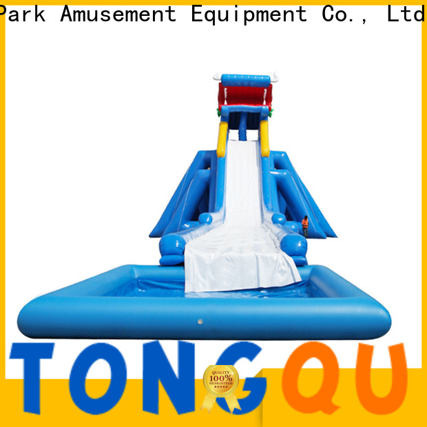 Tongtoy Best 30 foot water slide reputable manufacturer for water park