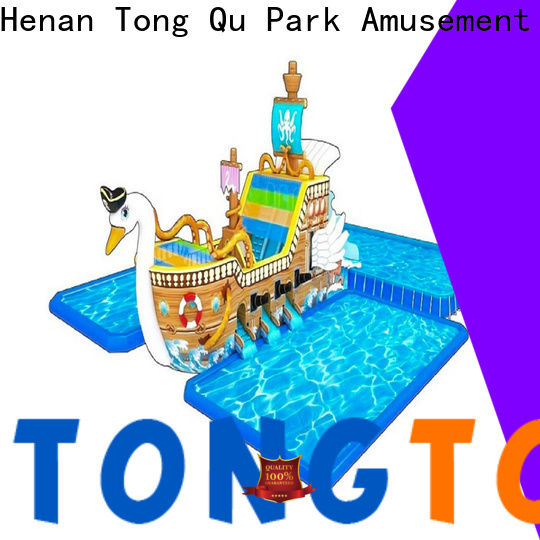 Tongtoy Best biggest blow up water slide for business for water park