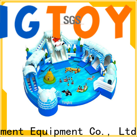 Tongtoy New water jumping castle reputable manufacturer for water park