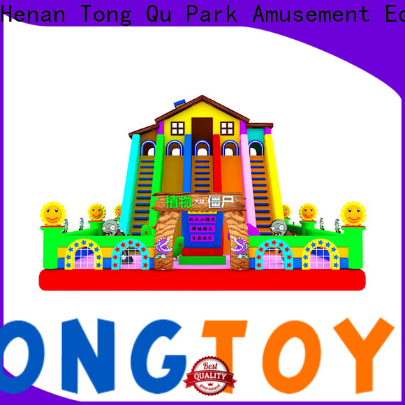 Tongtoy Wholesale wet and dry inflatable slide factory price for outdoor