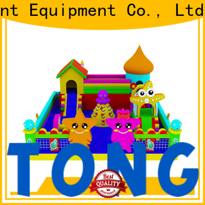 Tongtoy inflatable bouncers with slide inquire now for outdoor