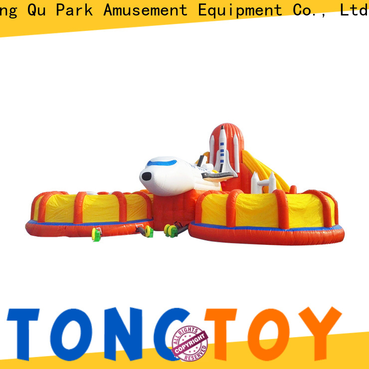 Tongtoy Heat resistant kids bounce house for sale supplier for adult
