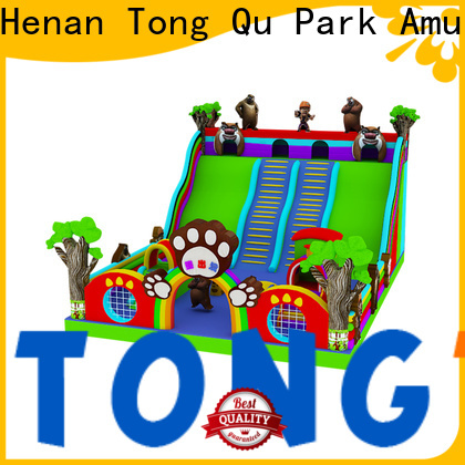 Tongtoy Custom inflatable bounce slide combo factory price for amusement park
