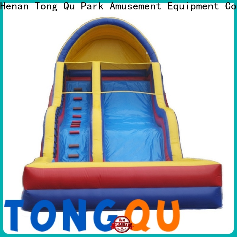 Tongtoy twin peaks water slide manufacturers for swimming pool