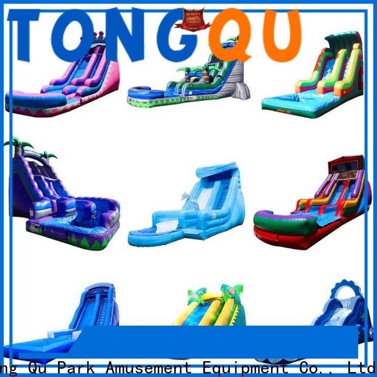 Tongtoy inflatable toddler slide factory price for amusement park