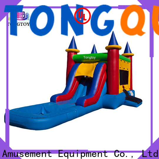 Tongtoy jump and slide bouncer inquire now for adult