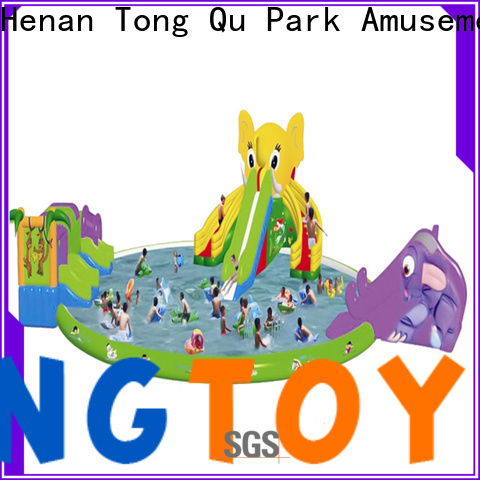 Tongtoy Wholesale crocodile inflatable water slide Suppliers for swimming pool