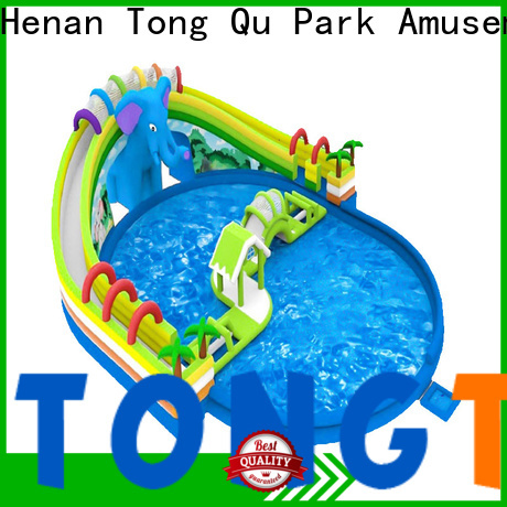 Tongtoy Best action air water slide factory price for swimming pool